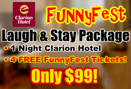 Laugh & Stay at Clarion